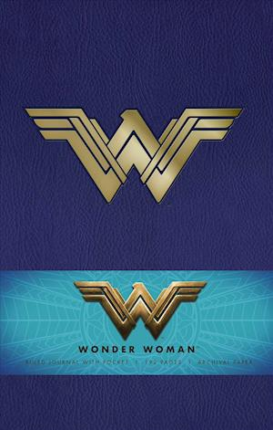 Bog, hardback DC Comics: Wonder Woman Hardcover Ruled Journal af Insight Editions