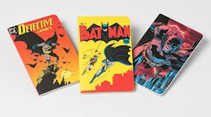 DC Comics: Batman Through the Ages Pocket Notebook Collection. Set of 3