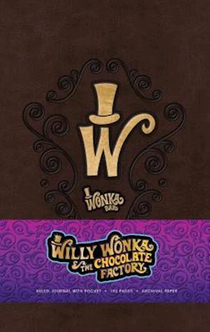 The Willy Wonka Hardcover Ruled Journal