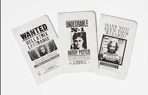 Bog, paperback Harry Potter - Wanted Posters Pocket Journal Collection af Insight Editions