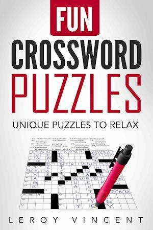 Bog, paperback Fun Crossword Puzzles af Leroy Vincent