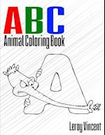 ABC Animal Coloring Book