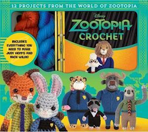 Bog, paperback Zootopia Crochet af Kati Galusz
