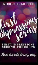 First Impressions Series (1-2) af Nicole R. Locker