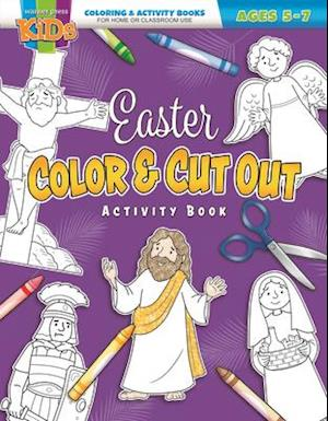 Coloring & Activity Book - Easter 5-7