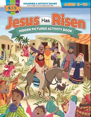 Coloring & Activity Book - Easter 8-10
