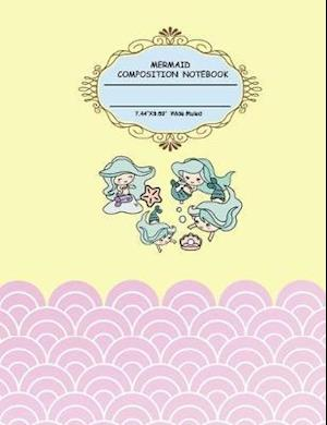 Mermaid Composition Notebook