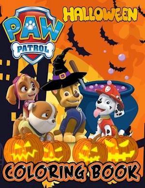 Paw Patrol Halloween Coloring Book