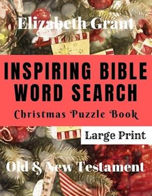 Inspiring Bible Word Search Christmas Puzzle Book
