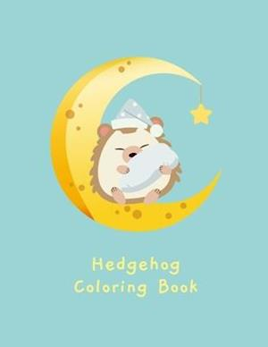 Hedgehog Coloring Book