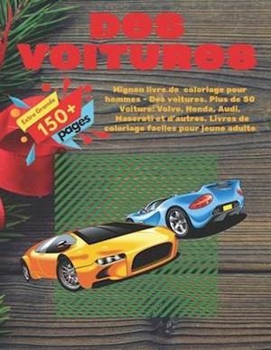 Mignon livre de coloriage pour hommes - Des voitures. Plus de 50 Voiture