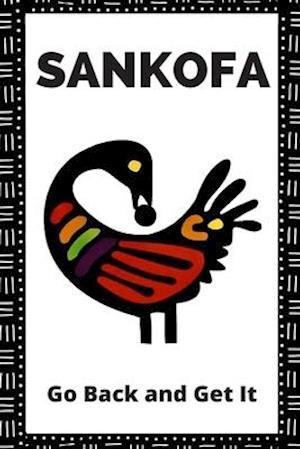Sankofa Bird Lined Journal