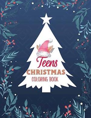 Teens Christmas Coloring Book