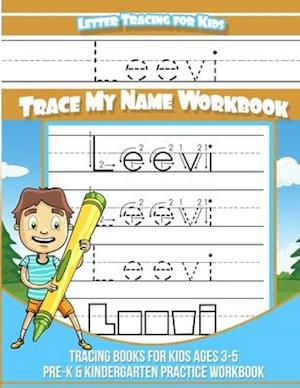Leevi Letter Tracing for Kids Trace my Name Workbook