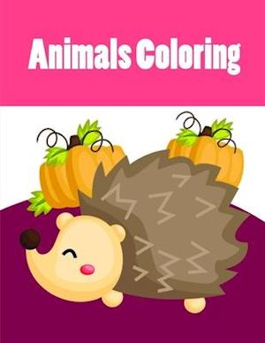 Animals Coloring