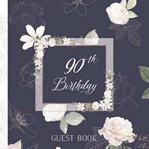 90th Birthday Guest Book