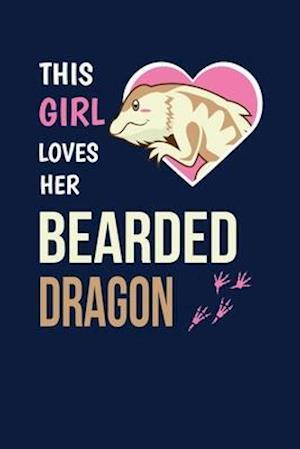 This Girl Loves Her Bearded Dragon