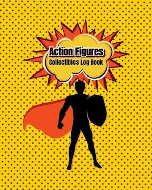 Action Figures Collectibles Log Book