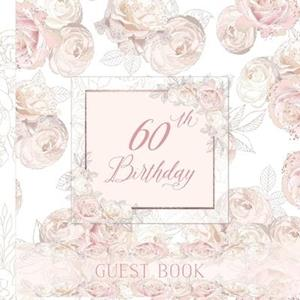 60th Birthday Guest Book