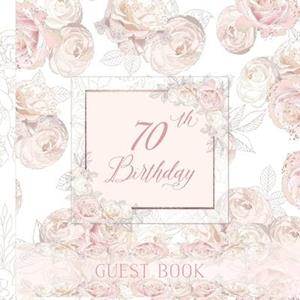 70th Birthday Guest Book