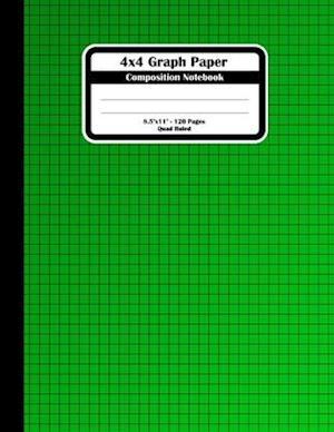 4x4 Graph Paper Composition Notebook