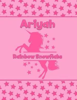 Ariyah Rainbow Snowflake