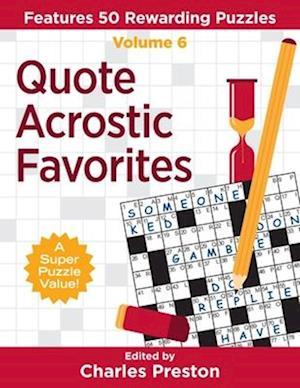 Quote Acrostic Favorites
