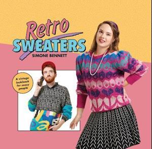 Bog, hardback Retro Sweaters af Simone Bennett