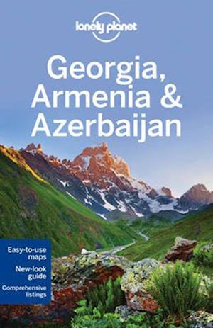 Bog paperback Lonely Planet Georgia Armenia & Azerbaijan af Lonely Planet
