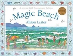 Bog, hardback Magic Beach af Alison Lester