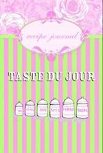 Taste du Jour Recipe Journal af Hardie Grant Books