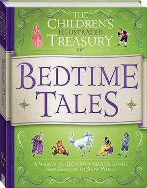 Bog, hardback Illustrated Treasury of Bedtime Tales af HINKLER BOOKS