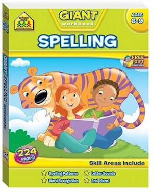 School Zone Giant Spelling Workbook