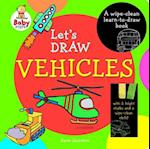 Baby Steps Lets Draw Vehicles Wipe Clean