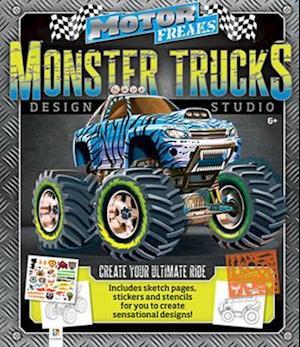 Bog, paperback Monster Trucks