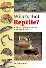 What's that reptile? (What's That Series)