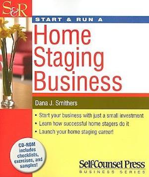 Bog, paperback Start & Run a Home Staging Business af Dana Smithers