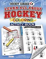 Learn All About Hockey Coloring and Acitivity Book (Hockey Canada)