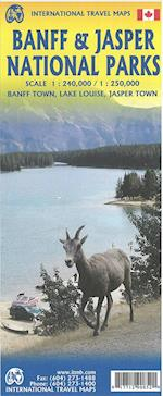 Banff & Jasper National Parks, International Travel Maps (International Travel Maps)