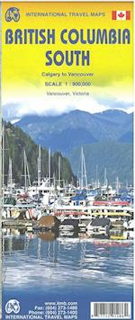 British Columbia South: Calgary to Vancouver, International Travel Maps (International Travel Maps)