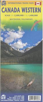Canada Western, International Travel Map (International Travel Maps)