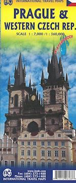 Prague & Western Czech Republic, International Travel Maps (International Travel Maps)