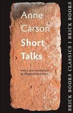 Short Talks (Brick Books Classics)