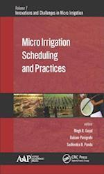 Micro Irrigation Scheduling and Practices (Innovations and Challenges in Micro Irrigation)