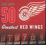 50 Greatest Red Wings af Bob Duff