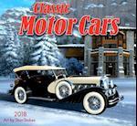Classic Motor Cars 2018 Wall Calendar