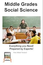 Middle Grades Social Science Practice : Practice Test Questions for Middle Grades Social Science
