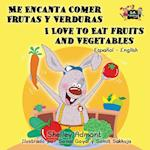 Me Encanta Comer Frutas y Verduras - I Love to Eat Fruits and Vegetables af Shelley Admont