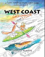West Coast Coloring Book af Robert Plante