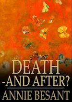 Death - and After? af Annie Besant